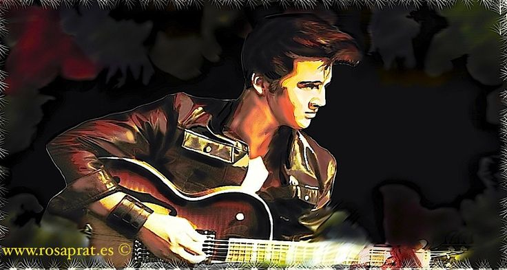10 canciones de Elvis Presley que me tocaron el corazón. Digital de Rosa Prat Yaque. Breve historia de Elvis Presley, su salto a la fama, sus mejores canciones.