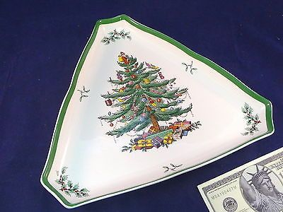 Spode Serving Tray Christmas Tree Made in England Large China Dinnerware Pottery Pottery & Glass:Pottery & China:China & Dinnerware:Spode:Porcelain www.internetauctionservicesllc.com $29.99