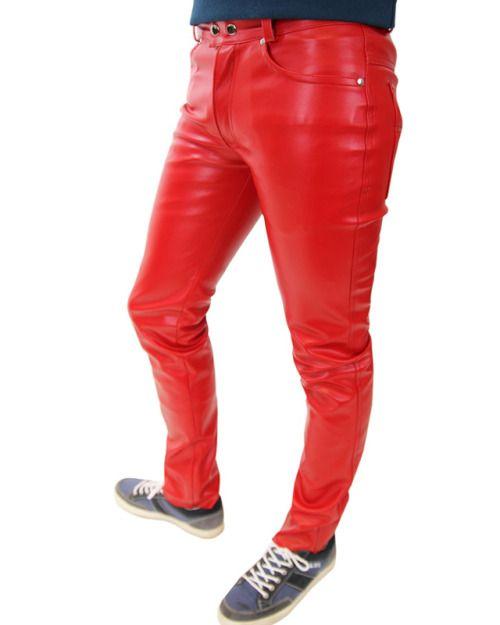 Pin von Lodewijk Negentien auf Red leather pants | Rote