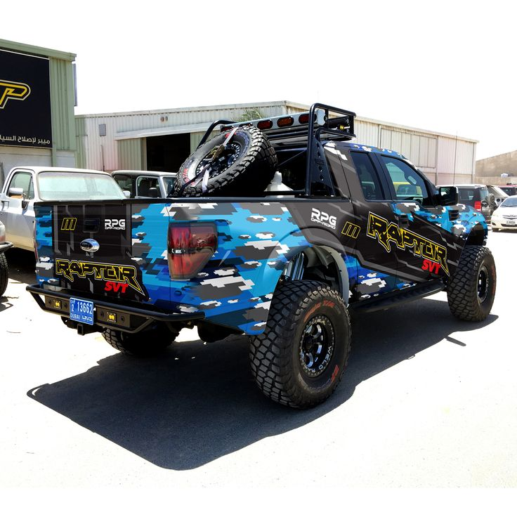 ford raptor svt wrap