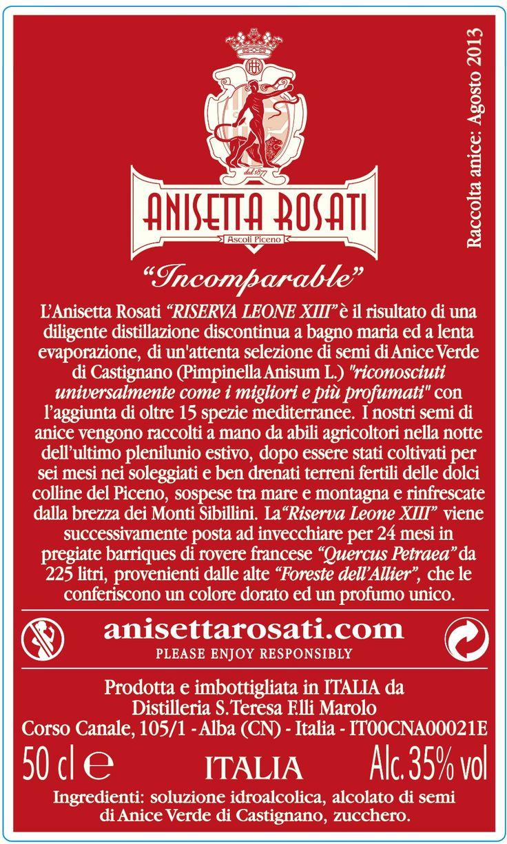 #AnisettaRosati #AscoliPiceno #AnisettaRosati1877 #Anisetta #Anisette #Anice #AniceVerde #AniceVerdediCastignano #Marche #RegioneMarche #Italia