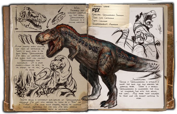 ARK Survival Evolved: T-Rex