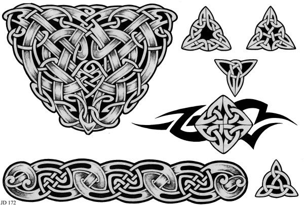 Fotos de tatuagens celtas 2 600x405 Fotos de Tatuagens Celtas