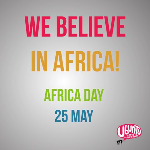 Happy Africa Day everyone!
