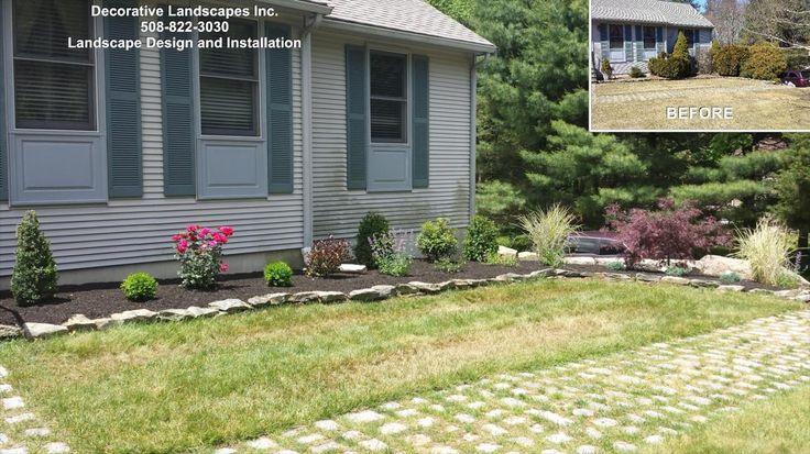 17 best images about ranch home landscapes on pinterest for Landscape design ranch house