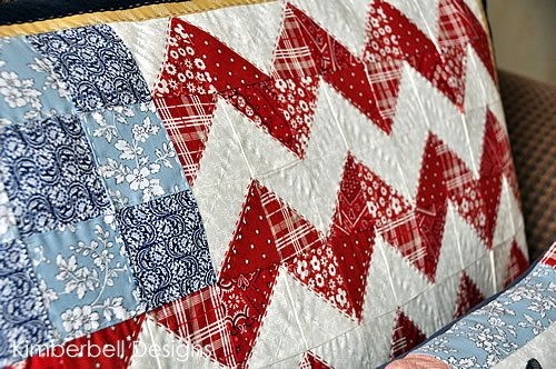 The Flag and Freedom Pillow Set Pattern - 4th of July Pillow Patterns