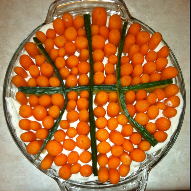 25 Best Ideas About Basketball Decorations On Pinterest: Health March Madness Snack!. :)