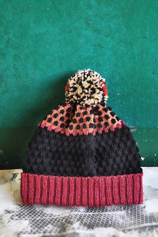 Pompom Beanie- Burgundy  All beanies can be purchased here: https://www.etsy.com/shop/yusquare Or contact info@yusquare.com for more details :)