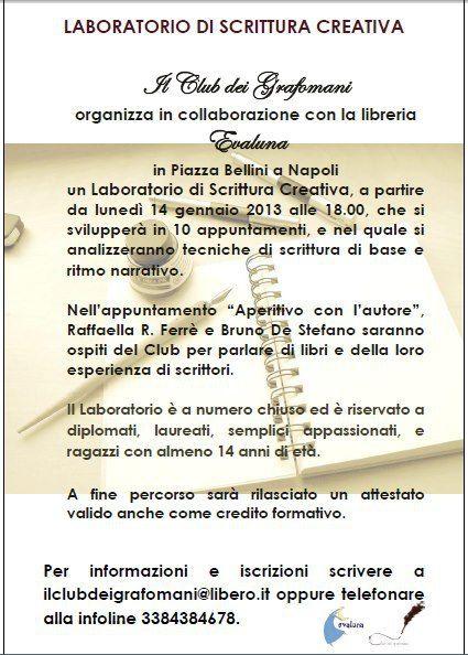 Un laboratorio di scrittura a Napoli
