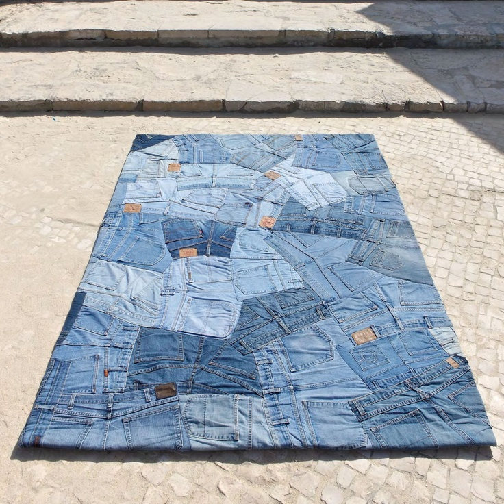Carving alfombra moderna jeans back alfombra moderna jeans back carving de fabricaci n artesanal - Carving alfombras ...