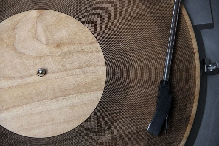 Laser-Cut Wooden Records Give New Meaning to 'Tree Rings' | WIRED