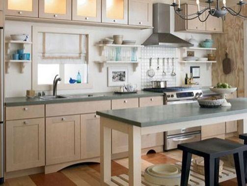 Überlegen Sie, Wie Sie Ihre Küche Und Die Angrenzenden Räume Benutzen. Ist  Die Küche Vom Anderen Teil Ihres Hauses Isoliert? Kücheninsel Mit  Sitzplätzen.
