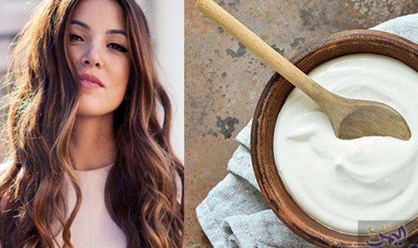 الزبادي يعمل على زيادة لمعان الشعر ويجعله أكثر حيوية Ladle