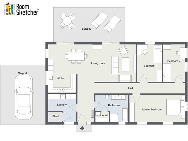 Need Floor Plans For Real Estate Property Listings? Check Out RoomSketcher Floor  Plan Services.