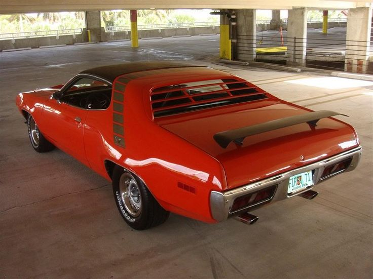 road runner 1971 muscle - photo #29