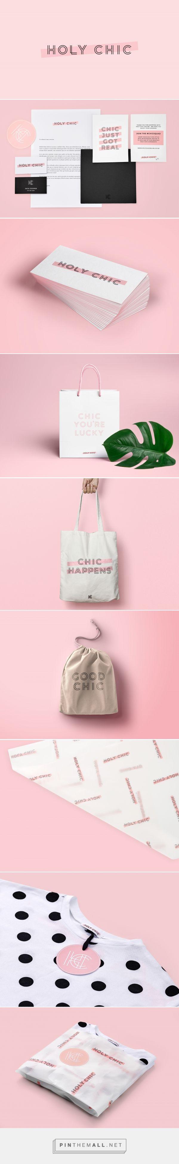 Holy Chic Streetwear Fashion Branding by Hannah Dollery