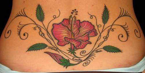 17 Low Back Tattoo