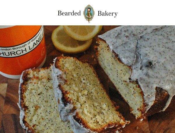Bearded Bakery: Lemon, Poppy Seed & Earl Grey Loaf St George's Day recipe! | Realm & Empire