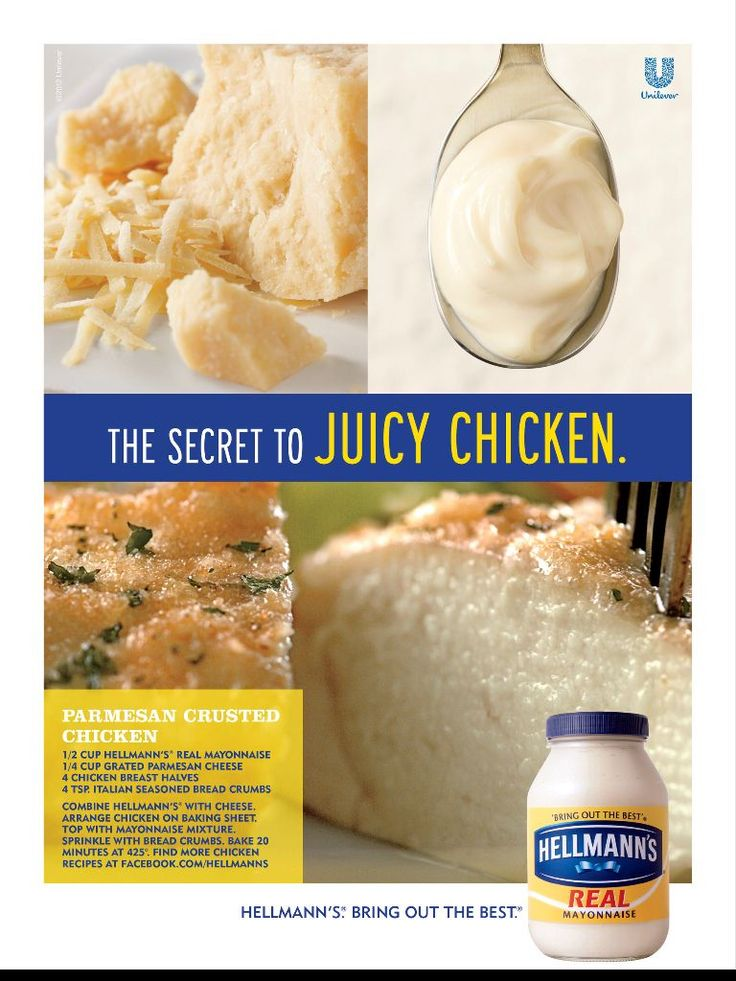 Hellmann's Parmesan Crusted Chicken