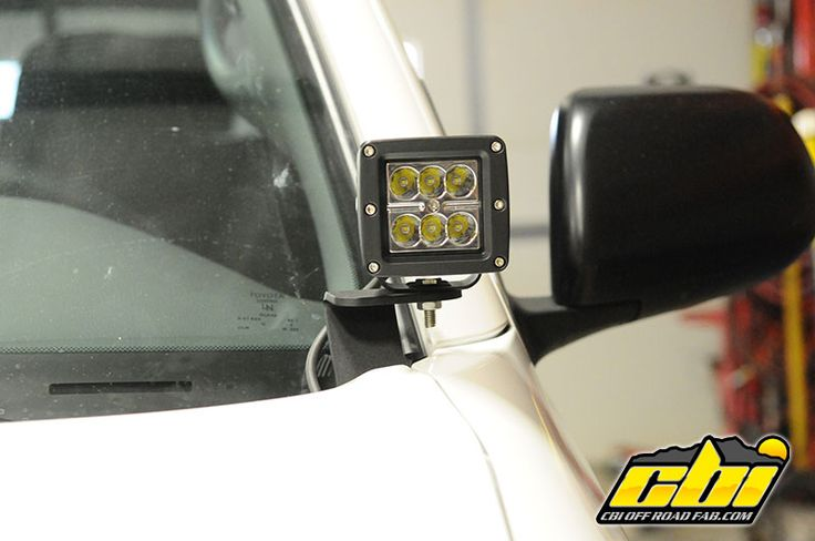 Toyota Tacoma Lifted >> CBI Ditch Lights brackets $30 pair | Toyota tacoma, Toyota ...