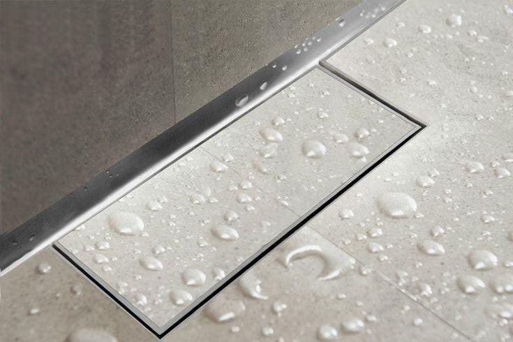 Bathroom Design Idea - Include A Linear Shower Drain | CONTEMPORIST
