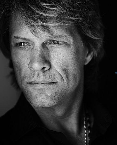 Jon Bon Jovi - He always looks so deep in thought.