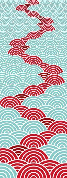 textile for Japanese washcloth, Tenugui
