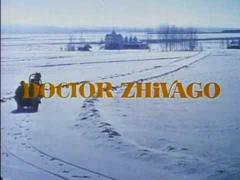 Dr. Zhivago (David Lean):  Doesn't get much better.Film Based, Omar Sharif, David Lean, Doctors Zhivago, Boris Pasternak, 1965, October 14Th, Favorite Movie, Families Growing