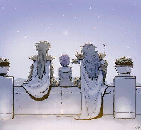 Aquarius Degel | Scorpio Kardia | Kami Sasha (Athena)