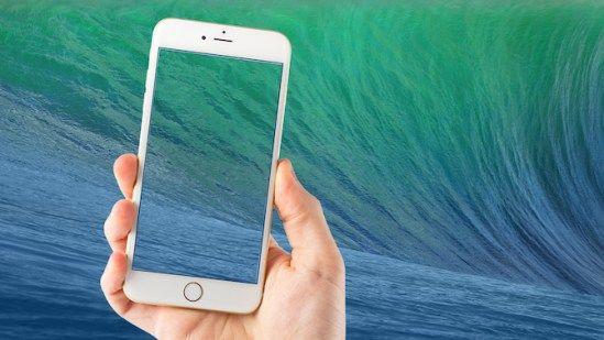 Los fondos de los sistemas Mac para el fondo de pantalla del iPhone