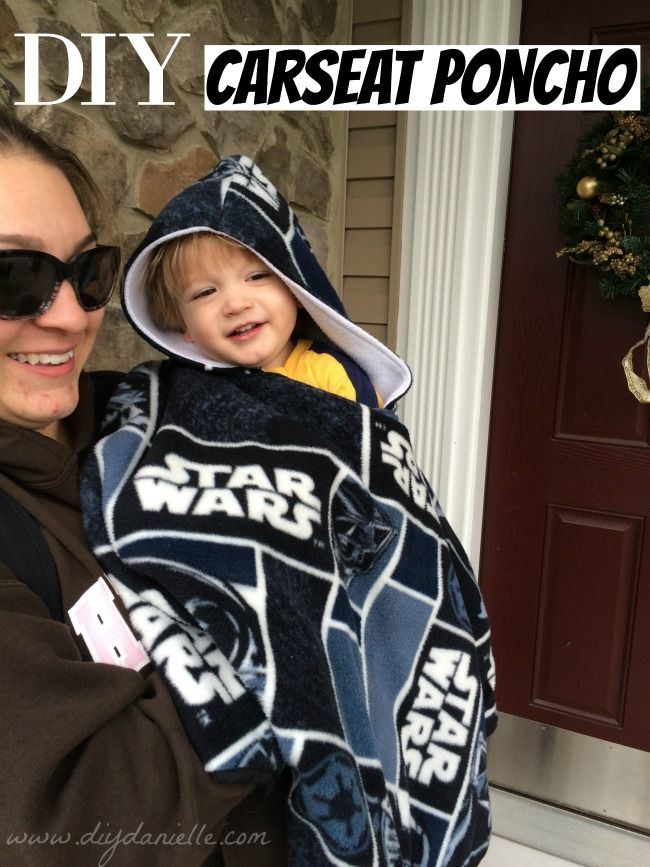 These car seat ponchos are easy to make and can keep your children warm in the car seats and out, without sacrificing safety. Learn to sew your own!