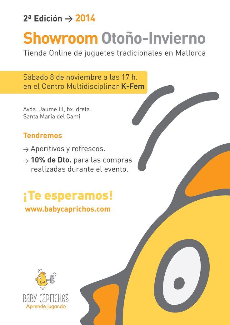 #Mallorca, Enlace para llegar al evento del sábado tarde, NUESTRO SHOWROOM!! http://binged.it/1ogycqr  Lo más práctico es venir a Santa Maria por la carretera vieja desde el Festival Park, y cuando estéis en Santa Maria y veáis un desvío a la autovía, esa es la calle. 50 m a mano derecha, centro multidisciplinar  http://www.k-fem.com/