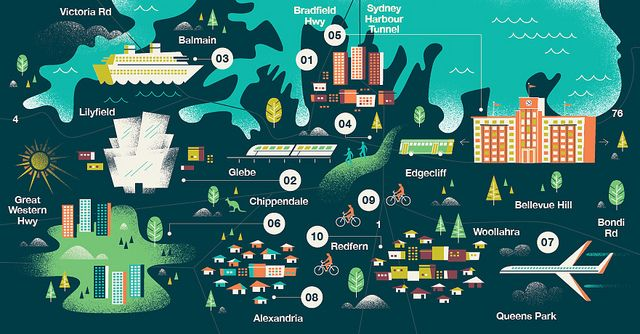 Monocle - Sydney Map