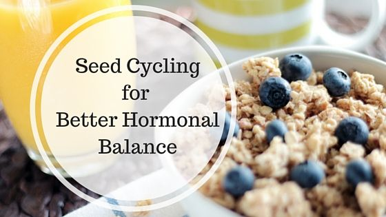 Article - Seed Cycling to Balance Pre & Post Menopausal Hormones by Dr. Jolene Brighten, ND