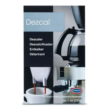 Personal Edge : Urnex ® 15-DEZC2-12DSP Dezcal™ Activated descaler 4x28g