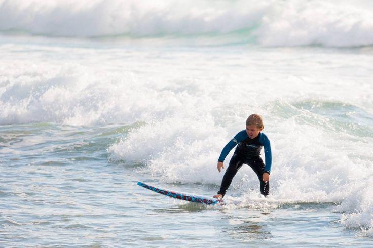 Kids surfing in Tarifa | Dětské surfování v Tarifě