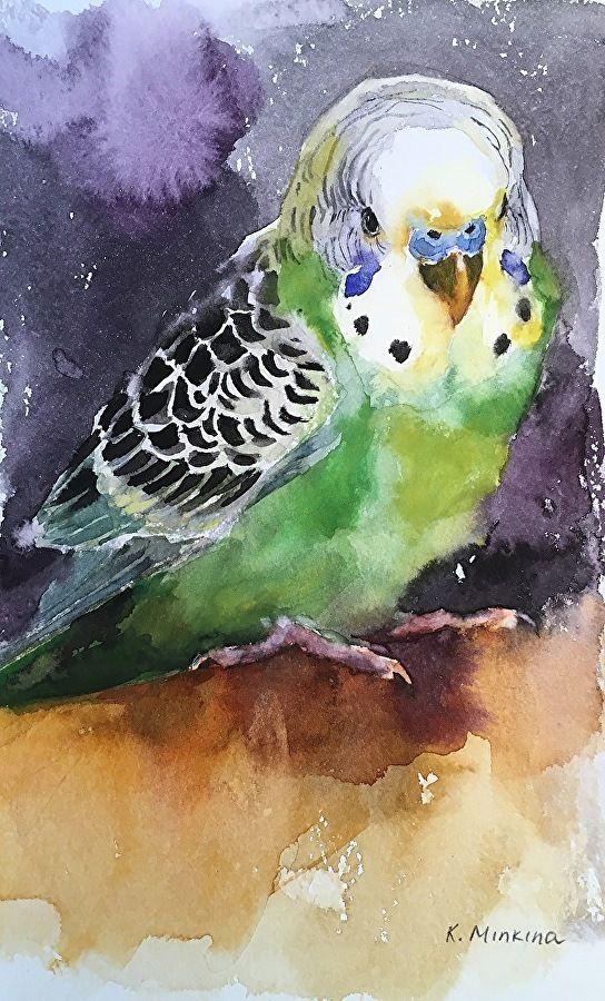 Katya Minkina - Portfolio of Works: Pets/Commissions
