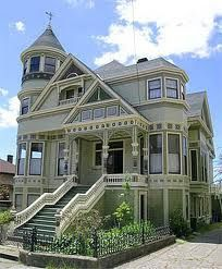 The Boudrow House at Sea Captain Corner, Berkeley, CA.