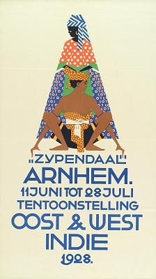 Rene Wanner's Poster Page / The Dutch East Indies in De Affiche Galerij in The Hague