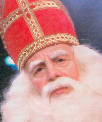 De echte Sinterklaas. Bram van der Vlucht....Zo leuk!
