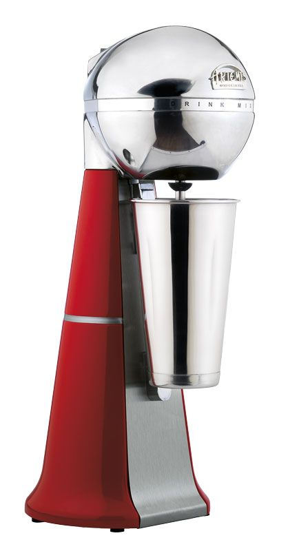 A-2001 Retro Red Drink Mixer with inox cup. #red