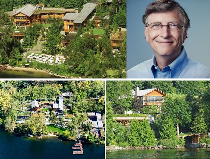 XANADU 2.0 - is the name of the mansion of Microsoft founder Bill Gates, situated on the side of ...