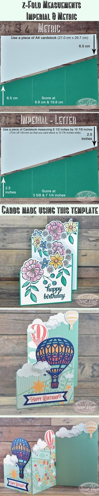 Miss Pinks Craft Spot: By popular demand... Imperial & Metric dimensions for z-Fold cards