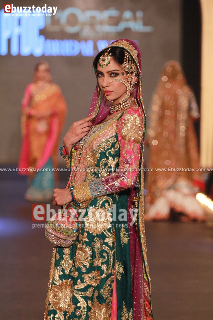 Nomi Ansari - PFDC L'Oréal Paris Bridal Week 2013 - Entertainment News by EbuzzToday - Entertainment News by EbuzzToday