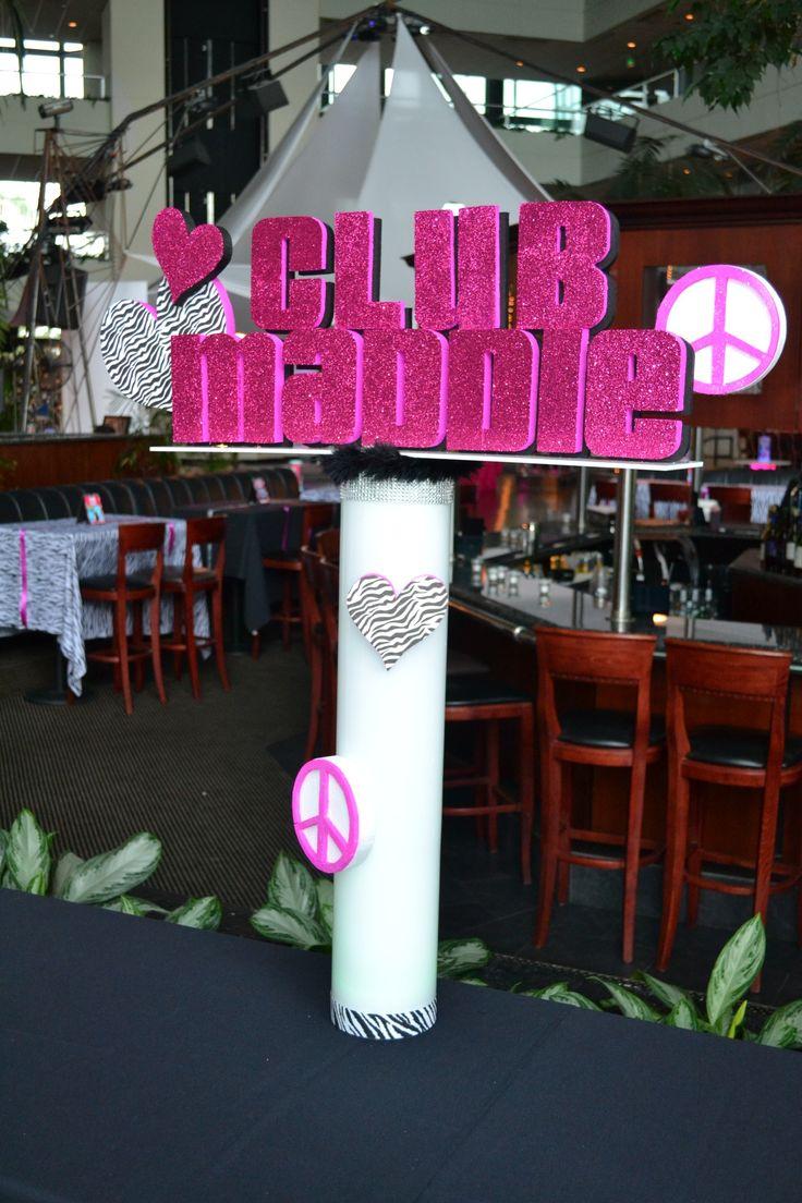 Tags bar and bat mitzvah event decor themes venues - Club Themed Bat Mitzvah Event Decor Party Perfect Boca Raton Fl 1 561