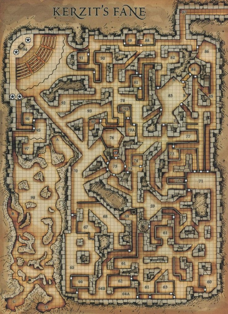 Pin By William Simpson On D&D Dungeon Maps In 2019