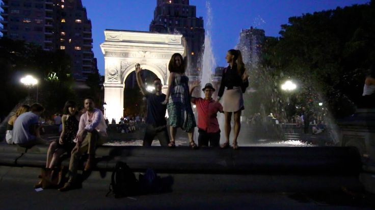 DANCING IN WASHINGTON SQUARE PARK