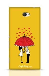 Love Couple Sony Xperia M2 Phone Case