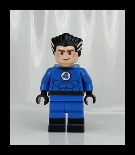 MC110 Lego Custom Inspired Mr Fantastic 4 Minifig Reed Marvel Super Hero Game | eBay