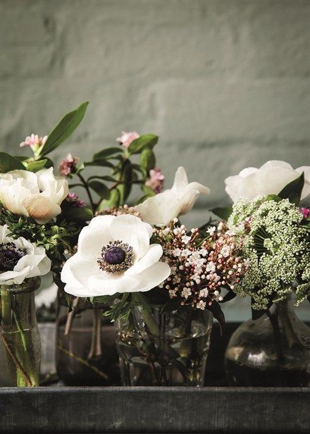 Decorate with flowers. Embrace flowers in all their glory - from fresh blooms to simple stem ideas - Home Beautiful